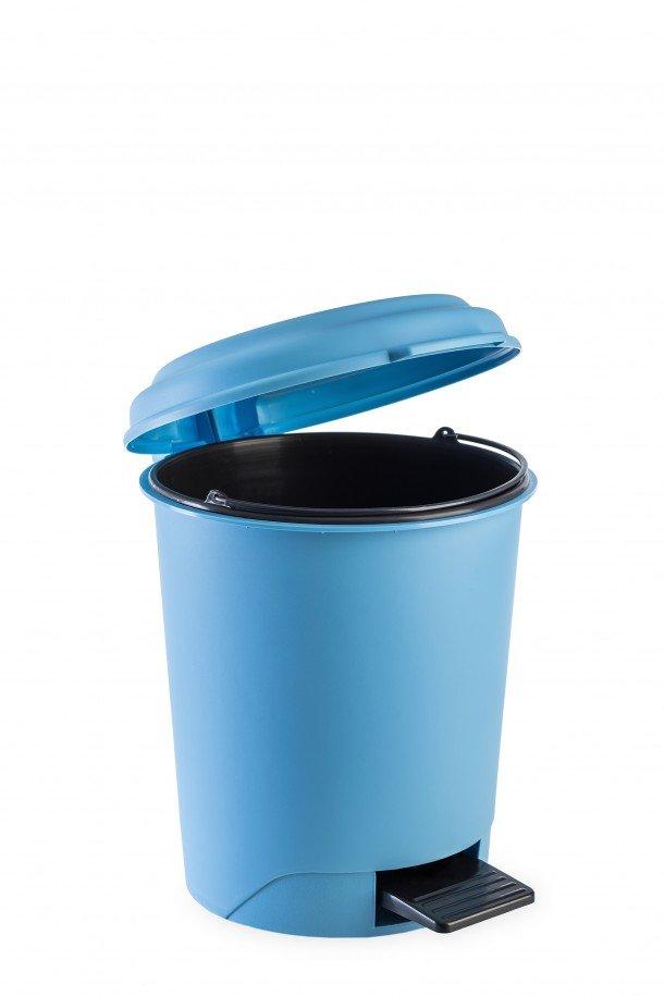 round pedal bin with inner bin