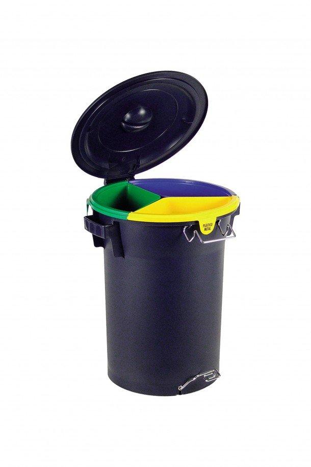 balde ecológico c/ pedal