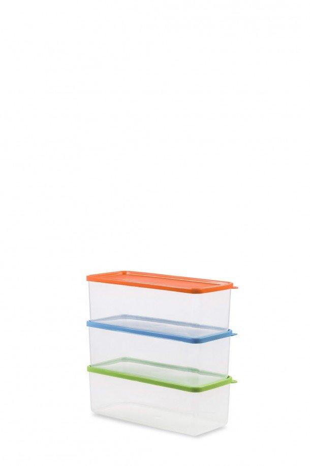 caixa incolor com tampa