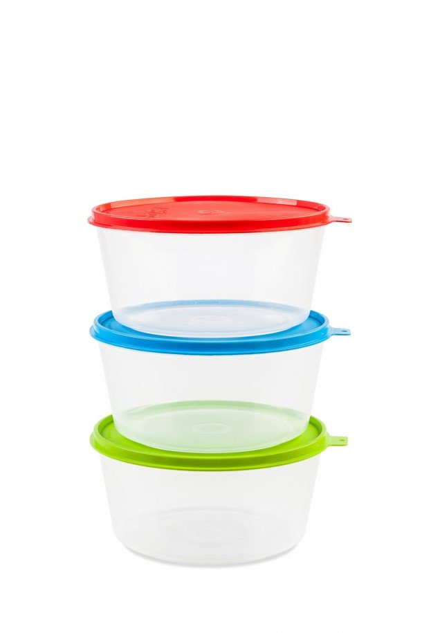 conic translucent box with lid