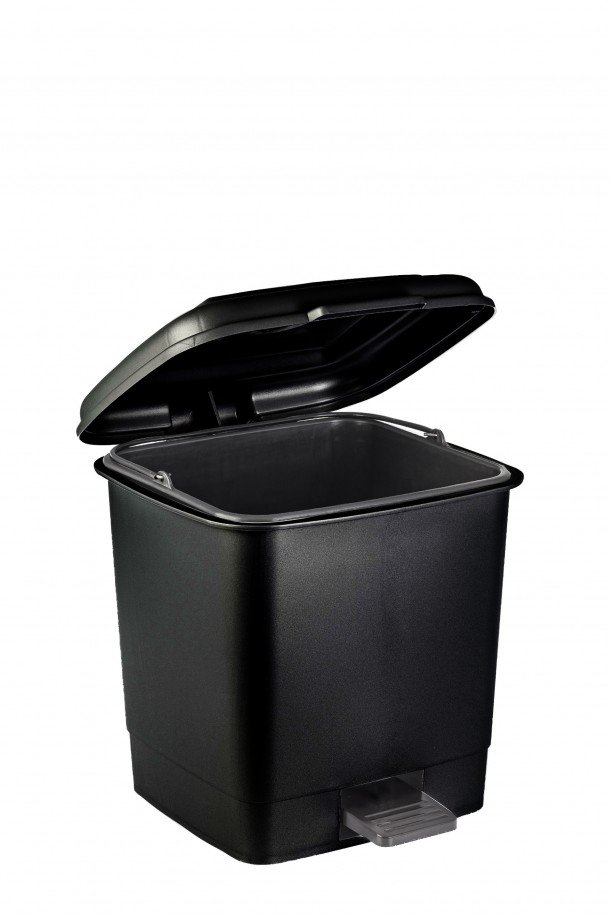 rectangular pedal bin with inner bin
